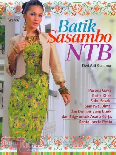Cover Buku Batik Sasambo NTB