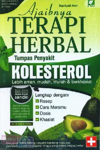 Cover Buku Ajaibnya Terapi Herbal Tumpas Penyakit Kolesterol