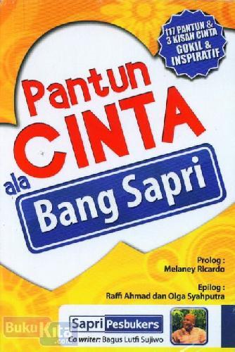 Cover Buku Pantun Cinta ala Bang Sapri