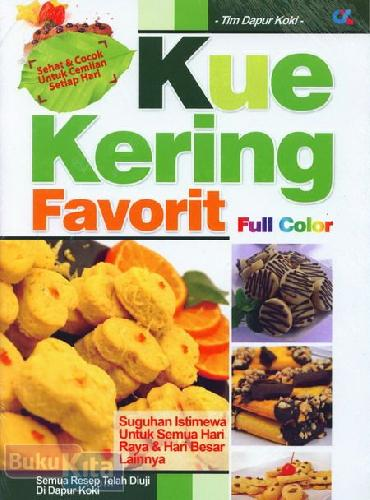 Cover Buku Kue Kering Favorit (Full Color)