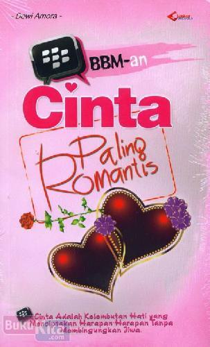 Cover Buku BBM-an Cinta Paling Romantis