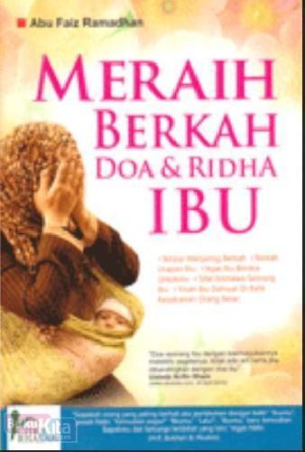 Cover Buku Meraih Berkah Doa & Ridha Ibu