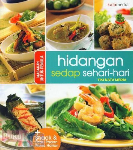 Cover Buku Hidangan Sedap Sehari-Hari