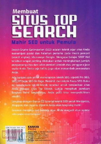 Cover Belakang Buku Membuat Situs Top Search