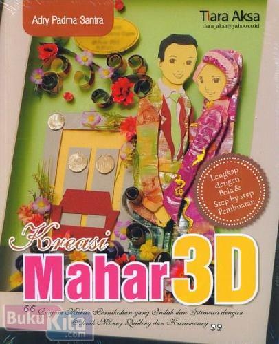 Cover Buku Kreasi Mahar 3D