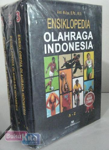 Cover Buku Ensiklopedia Olahraga Indonesia Jilid 1-3 (Hard Cover)