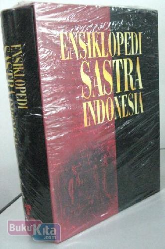 Cover Buku Ensiklopedi Sastra Indonesia HC