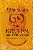 Himpunan 69 Materi Kultum Untuk Semua Momentum