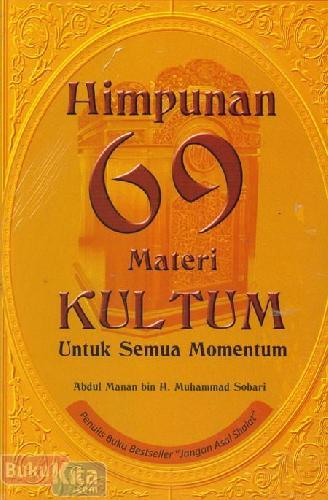 Cover Buku Himpunan 69 Materi Kultum Untuk Semua Momentum