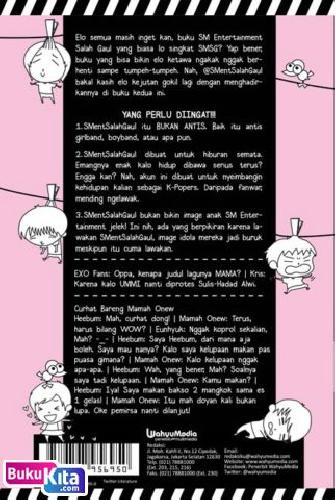 Cover Belakang Buku Damn! I Love SM Entertainment Salah Gaul 2