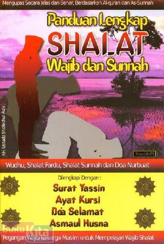 Cover Buku Panduan Lengkap Shalat Wajib dan Sunnah