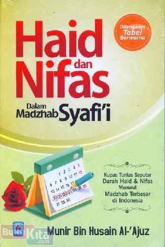 Cover Buku Haid dan Nifas Dalam Mazhab Syafii