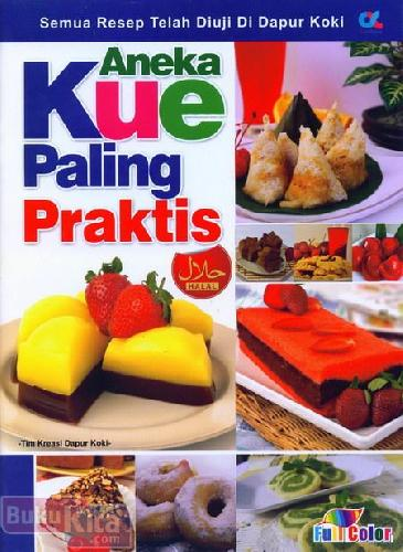 Cover Buku Aneka Kue Paling Praktis (full color)