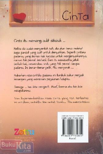 Cover Belakang Buku Persembahan Cinta