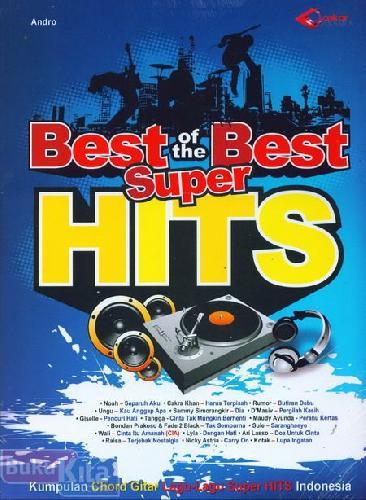 Cover Buku Kumpulan lagu Super Hits