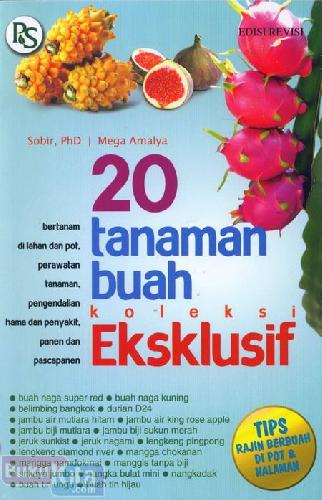Cover Buku 20 Tanaman Buah Koleksi Eksklusif
