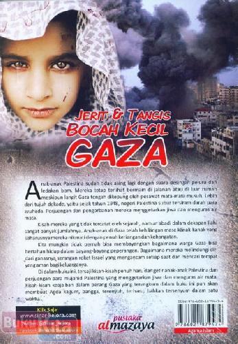 Cover Belakang Buku Jerit & Tangis Bocah Kecil Gaza