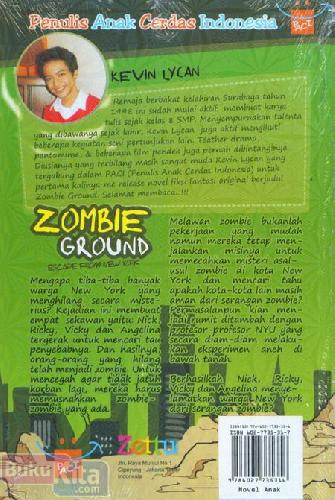 Cover Belakang Buku Zombie Ground Escape From New York