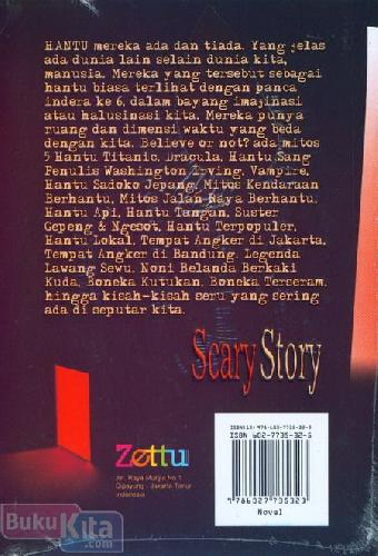 Cover Belakang Buku Scary Story Believe or not believe