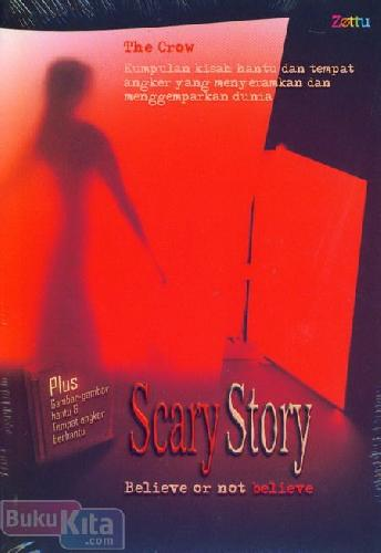 Cover Buku Scary Story Believe or not believe