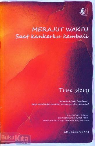 Cover Buku Merajut Waktu Saat Kankerku Kembali