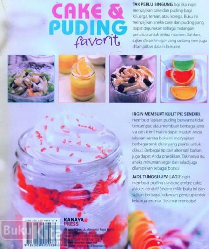 Cover Cake Puding Favorit