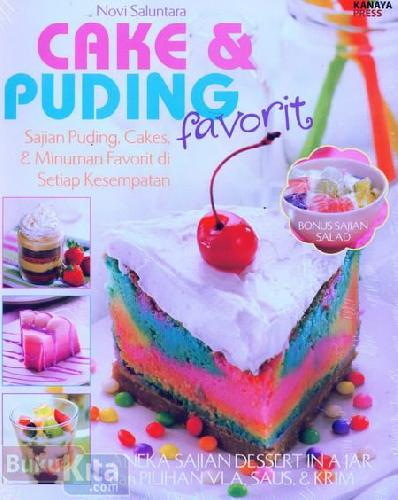 Cover Buku Cake Puding Favorit
