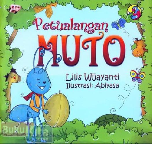 Cover Depan Buku Petualangan Muto (full color)