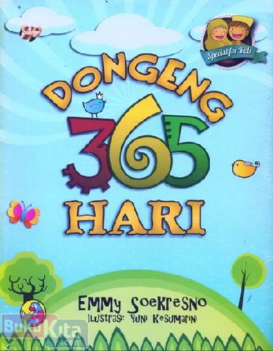 Cover Buku Dongeng 365 Hari (special for kids)