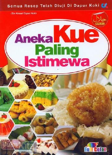 Cover Buku Aneka Kue Paling Istimewa (full color)