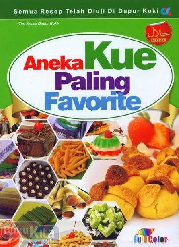 Cover Buku Aneka Kue Paling Favorite (full color)