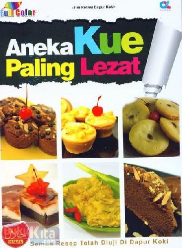 Cover Buku Aneka Kue Paling Lezat (full color)