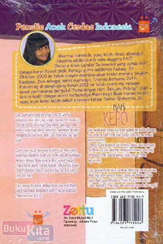 Cover Belakang Buku Mami kepo