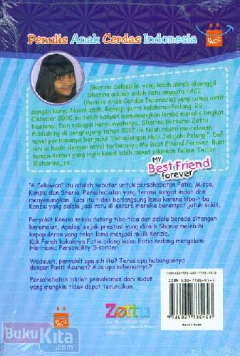 Cover Belakang Buku My Best Friend Forever