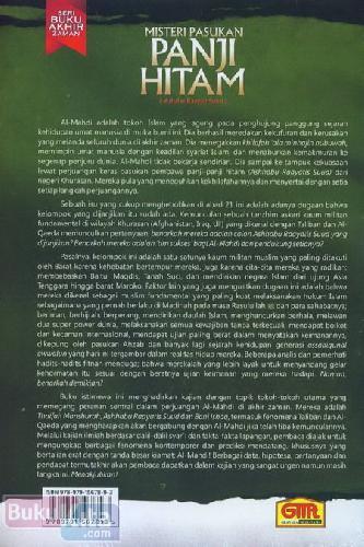 Cover Belakang Buku Misteri Pasukan Panji Hitam