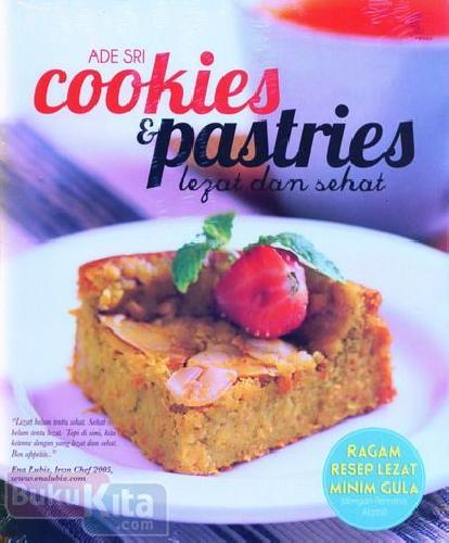 Cover Buku Cookies & Pastries Lezat dan Sehat