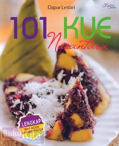 Cover Buku 101 Kue Nusantara