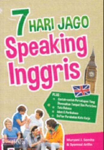 Cover Buku 7 Hari Jago Speaking Inggris