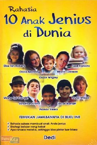 Cover Buku Rahasia 10 Anak Jenius di Dunia