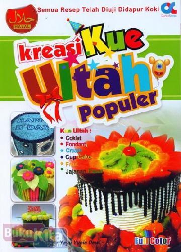 Cover Buku Kreasi Kue Ultah Populer (full color)