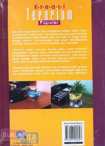 Cover Belakang Buku Kreasi Terarium Populer (full color)