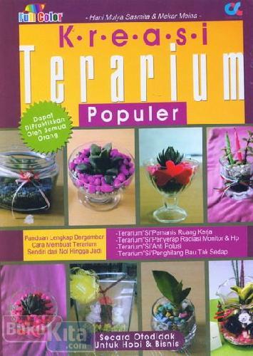 Cover Buku Kreasi Terarium Populer (full color)