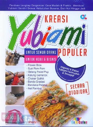 Cover Buku Kreasi Yubiami Populer (full color)