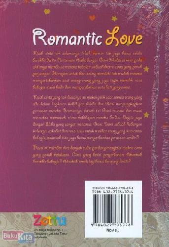 Cover Belakang Buku Romantic Love