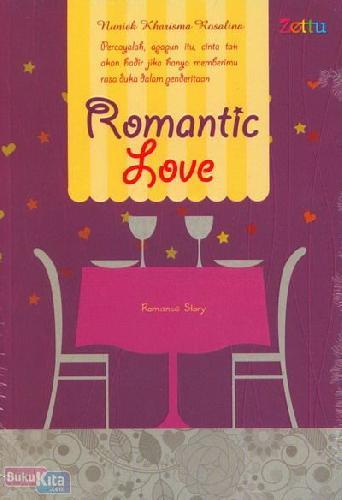 Cover Buku Romantic Love