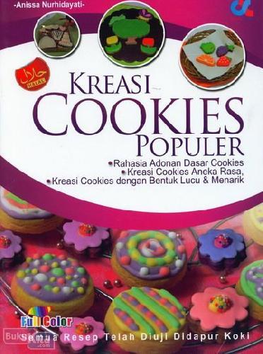 Cover Buku Kreasi Cookies Populer