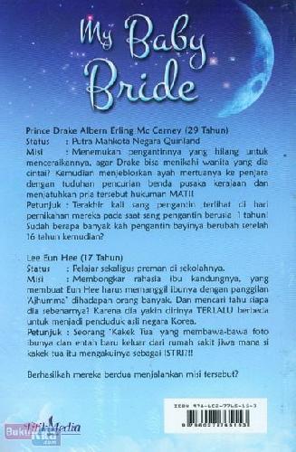 Cover Belakang Buku My Baby Bride - Pengantin Kimchi
