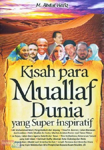 Cover Buku Kisah Para Muallaf Dunia yang Super Inspiratif