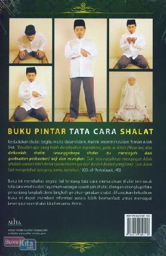 Cover Belakang Buku Buku Pintar Tata Cara Shalat