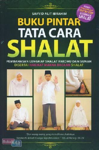 Cover Buku Buku Pintar Tata Cara Shalat